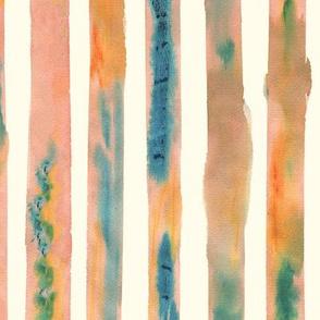 Watercolour Stripe