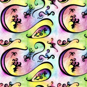 Color swirls Medium
