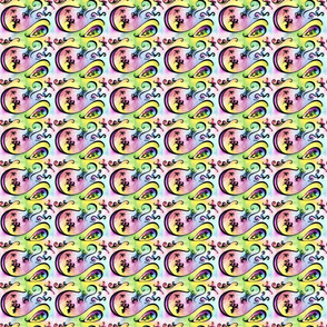 Color swirls Tiny