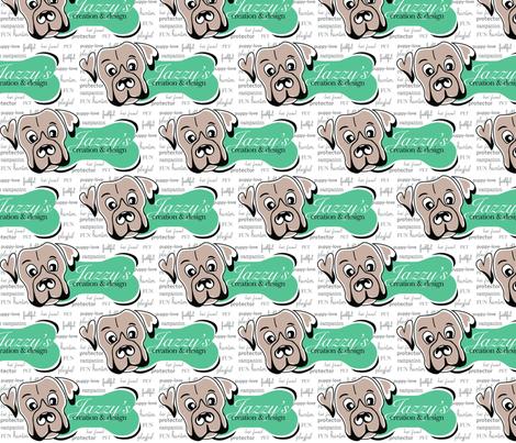 Jazzy My Dog fabric by jazzysdesign on Spoonflower - custom fabric