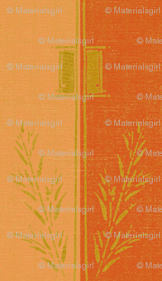 Deco_wheat_stripe - apple and melon