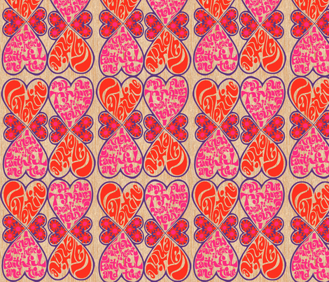 That 70's Valentine fabric by brother_crow on Spoonflower - custom fabric