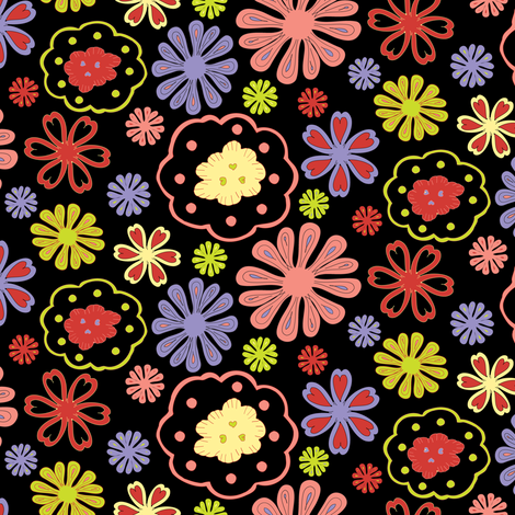 Love Garden fabric by mag-o on Spoonflower - custom fabric