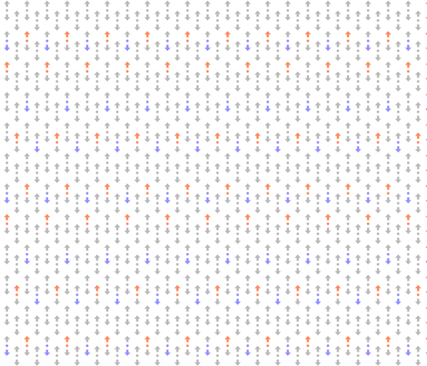 reddit upvote ditsy print fabric by terridee on Spoonflower - custom fabric