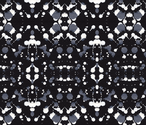 Marble Tears, Black fabric by janet_antepara on Spoonflower - custom fabric