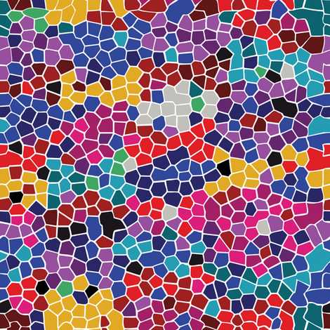 Mosaic Background fabric by lilola on Spoonflower - custom fabric