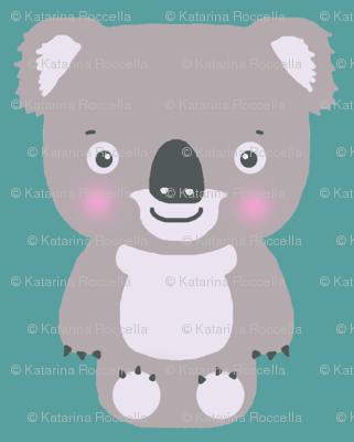 koala teal