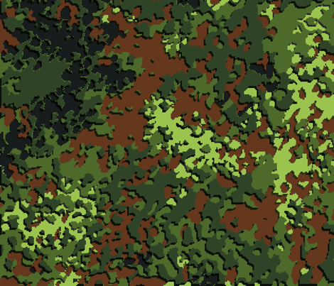 Digital Flecktarn Camo fabric by ricraynor on Spoonflower - custom fabric