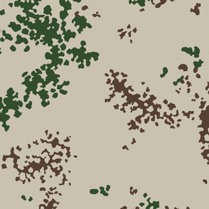 German Desert Flecktarn Camo