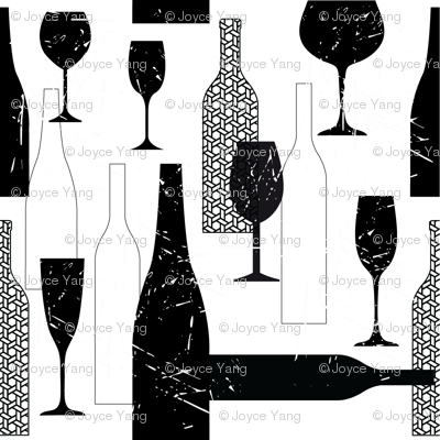 Wine Bottle Prints