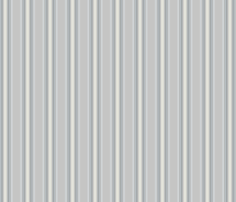 Pale Grey Stripes © Gingezel™ 2013 fabric by gingezel on Spoonflower - custom fabric