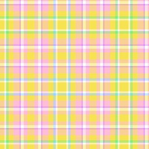 Yellow Easter Plaid
