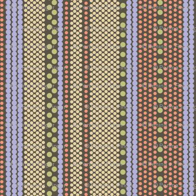 Pointillist Stripes - Chick Poet