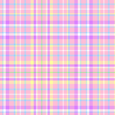 Pink Easter Plaid fabric by mandollyn on Spoonflower - custom fabric