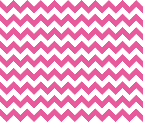 Zig Zag Bubble Gum fabric by littlerhodydesign on Spoonflower - custom fabric