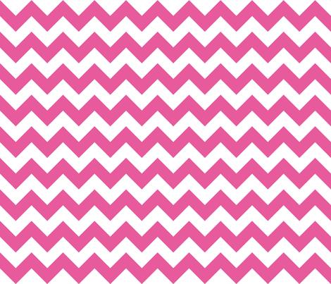Zig Zag Bubble Gum fabric by littlerhodydesign on Spoonflower - custom fabric