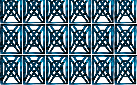 viv_TBH_FRET_Midnight Saphire test fabric by cest_la_viv on Spoonflower - custom fabric