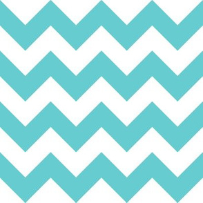 Zig Zag Teal