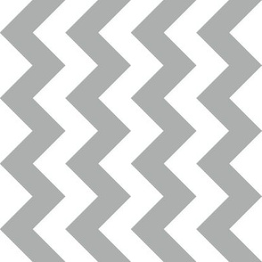 Chevron Railroaded Silver