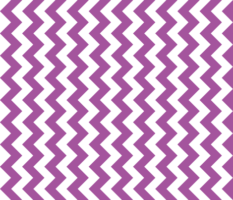 Chevron Railroaded Plum fabric by littlerhodydesign on Spoonflower - custom fabric
