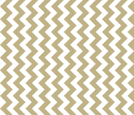 Chevron Railroaded Khaki fabric by littlerhodydesign on Spoonflower - custom fabric