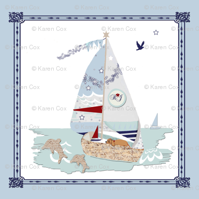 RJ's Puppy Sailboats storybook
