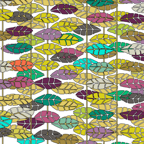 pinnate fabric by scrummy on Spoonflower - custom fabric