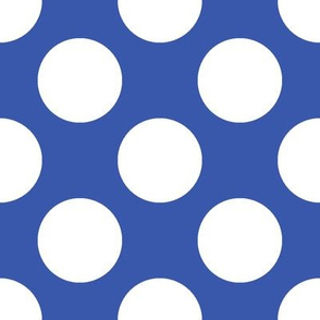 Polka Dot Blue