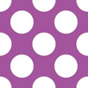 Polka Dot Plum