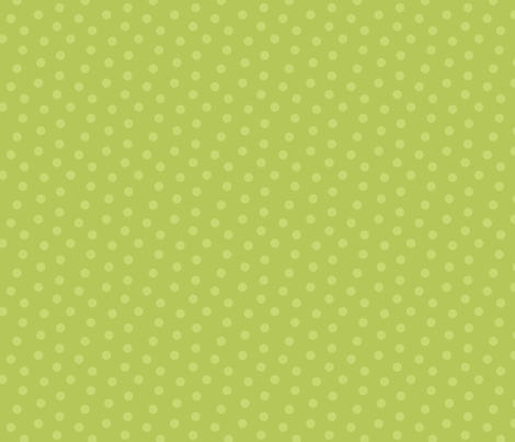 Tonal Mini Dot Apple Green fabric by littlerhodydesign on Spoonflower - custom fabric