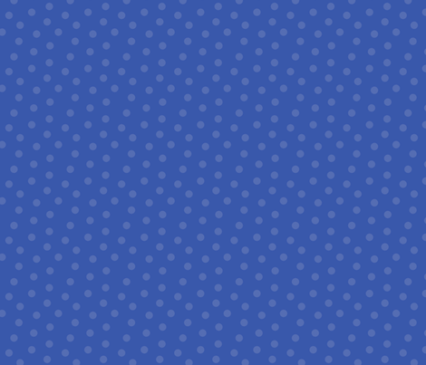 Tonal Mini Dot Blue fabric by littlerhodydesign on Spoonflower - custom fabric