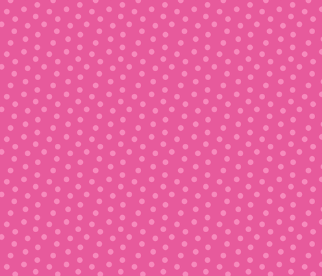 Tonal Mini Dot Bubble Gum fabric by littlerhodydesign on Spoonflower - custom fabric
