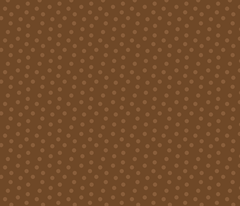 Tonal Mini Dot Chocolate fabric by littlerhodydesign on Spoonflower - custom fabric