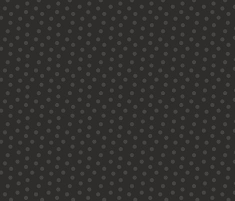 Tonal Mini Dot Coal fabric by littlerhodydesign on Spoonflower - custom fabric