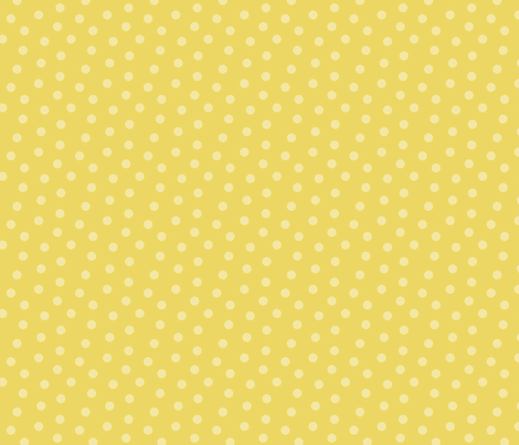 Tonal Mini Dot Sunshine fabric by littlerhodydesign on Spoonflower - custom fabric