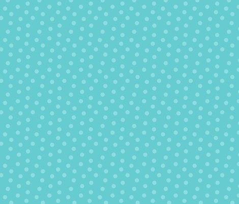 Tonal Mini Dot Teal fabric by littlerhodydesign on Spoonflower - custom fabric
