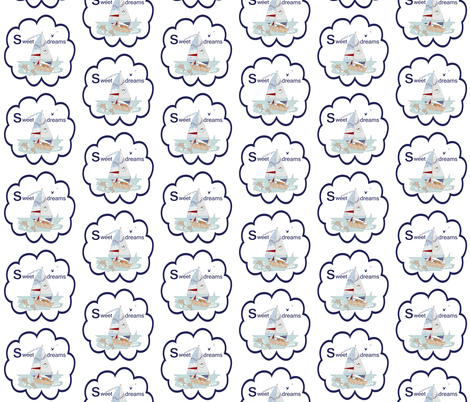 Sweet Dreams Decal fabric by karenharveycox on Spoonflower - custom fabric
