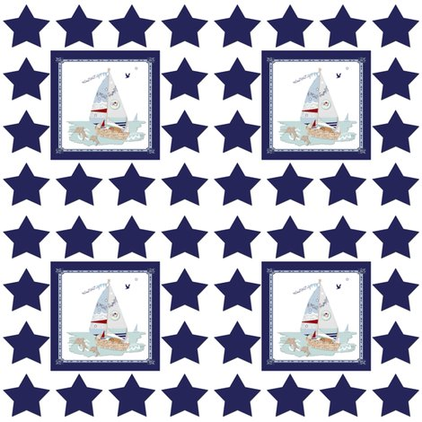 Rrnavy_and_white_stars_and_rj_s_puppy_boat_shop_preview