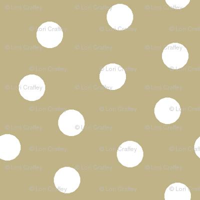 Mini Dot Khaki