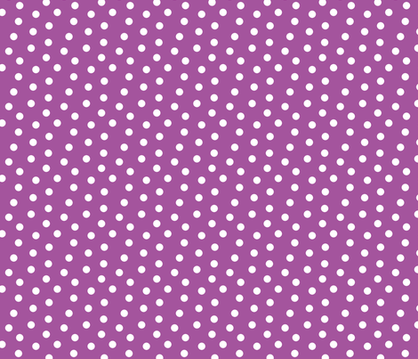 Mini Dot Plum fabric by littlerhodydesign on Spoonflower - custom fabric