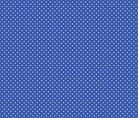 Pin Dot Blue fabric by littlerhodydesign on Spoonflower - custom fabric