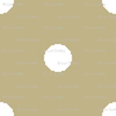 Pin Dot Khaki