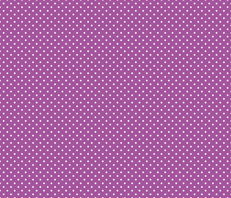 Pin Dot Plum fabric by littlerhodydesign on Spoonflower - custom fabric