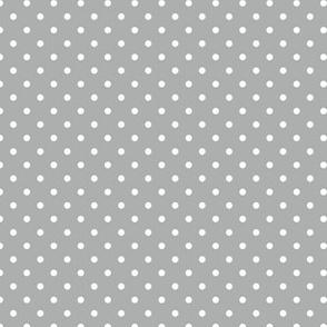 Pin Dot Silver