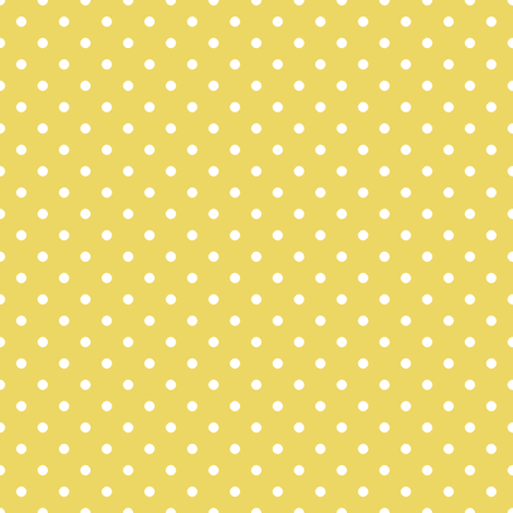Pin Dot Sunshine fabric by littlerhodydesign on Spoonflower - custom fabric