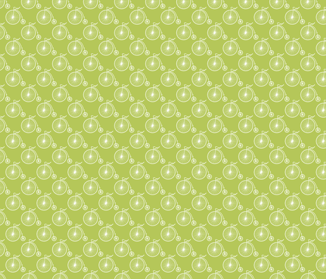 Big Wheel Apple fabric by littlerhodydesign on Spoonflower - custom fabric