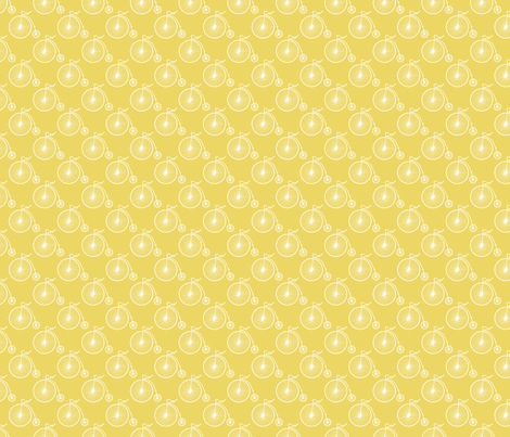 Big Wheel Sunshine fabric by littlerhodydesign on Spoonflower - custom fabric