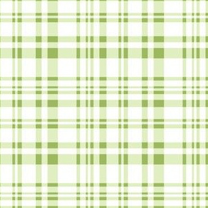 Under the Water - plaid green