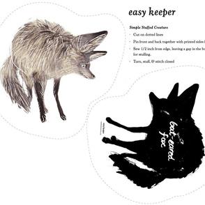 Bate Eared Fox Stuffee
