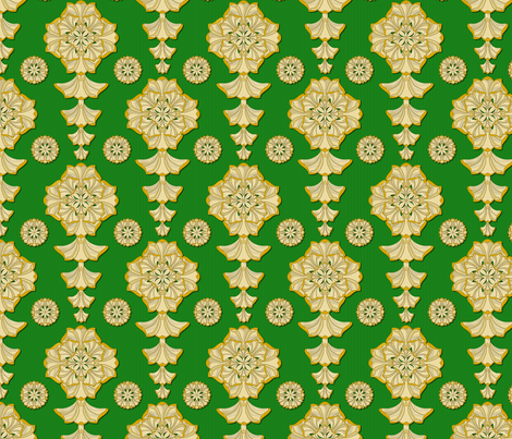 glorius_damask_erin fabric by glimmericks on Spoonflower - custom fabric